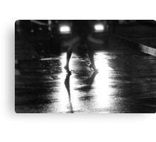 You and the night  Canvas Print