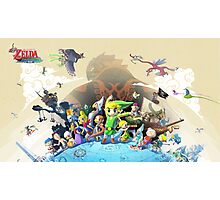 The Legend of Zelda: The Windwaker HD Photographic Print