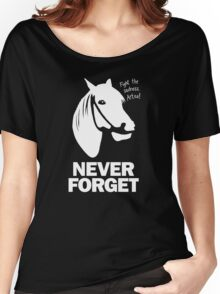 NEVER FORGET - Artax and the Swamps of Sadness Women's Relaxed Fit T-Shirt
