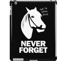 NEVER FORGET - Artax and the Swamps of Sadness iPad Case/Skin