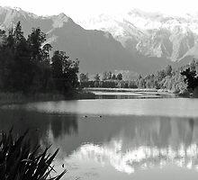Lake Matheson by Neil Crittenden