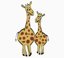 Cute Giraffes by lesrubadesigns