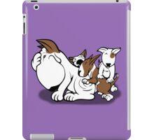 Bull Terrier Puppies with Mum iPad Case/Skin