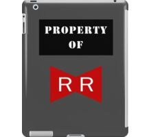 Property of Red Ribbon Army 2 iPad Case/Skin