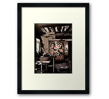 Old workplace. Framed Print