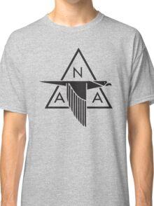 North American Aviation Logo (Black) Classic T-Shirt