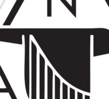 North American Aviation Logo (Black) Sticker