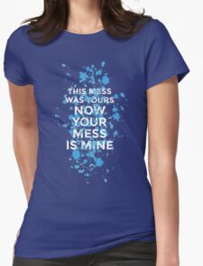 Vance Joy - Mess Is Mine Womens Fitted T-Shirt