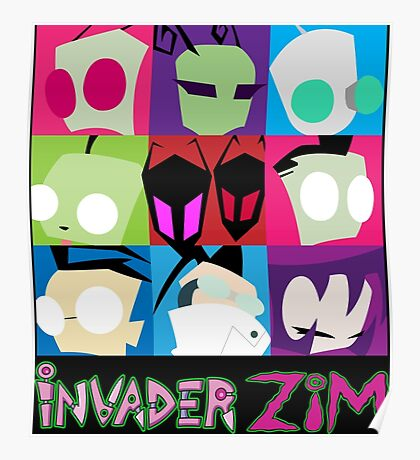Invader Zim Collection Poster