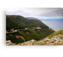 Cabot Trail, Cape Breton Island Canvas Print