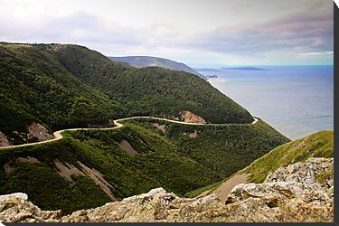 Cabot Trail, Cape Breton Island by Robert Kelch, M.D.