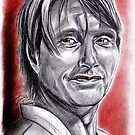Mads MIKKELSEN as Nigel by jos2507