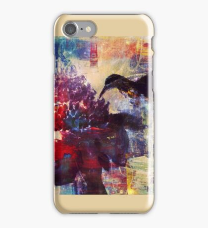 Hummingbird and the Emperor's torch- By Carolina Bertsch iPhone Case/Skin
