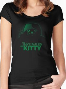 You have failed this Kitty Women's Fitted Scoop T-Shirt