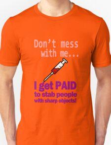 Women's funny nurse geek funny nerd Unisex T-Shirt