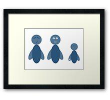 Blubies 01 Framed Print