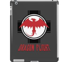 Dragon Flight Squadron Logo iPad Case/Skin