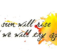 and we will try again (font 1) by thecrazyones