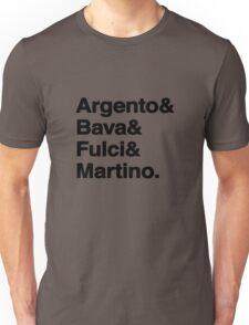 Giallo Directors Unisex T-Shirt