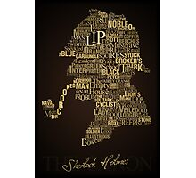 Sherlock Holmes The Canon Photographic Print