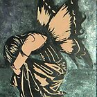 Girl with Butterfly Wings by Sarah McDonald