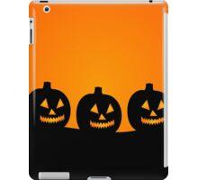 Pumpkin Silhouettes iPad Case/Skin
