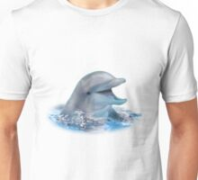 Happy Dolphin Unisex T-Shirt