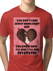 Happy Wolflantine [Stydia] Tri-blend T-Shirt