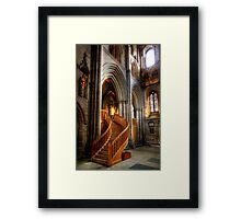 Glow of Gold, Ripon Cathedral Framed Print