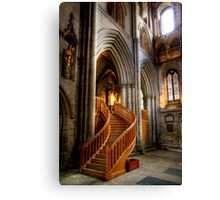 Glow of Gold, Ripon Cathedral Canvas Print