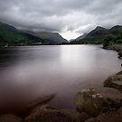 Lake at Llanberis  by Mark Dobson