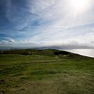 View towards Anglesey from Great Orm summit by Mark Dobson