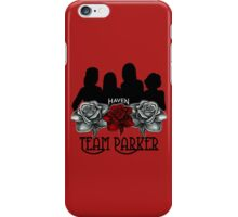 Haven Team Parker Sides Of Audrey Black Logo iPhone Case/Skin