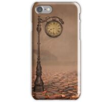 behind time iPhone Case/Skin