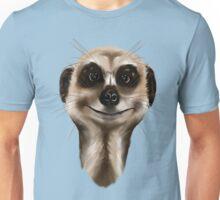 Meerkat face Unisex T-Shirt
