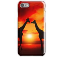 Meeting at Sea iPhone Case/Skin