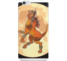 Howling Moon iPhone Case/Skin