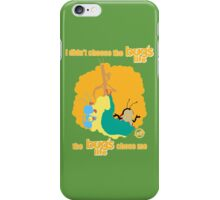 I Didn't Choose The Bug's Life iPhone Case/Skin