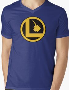 Legion of Super-Heroes Logo Mens V-Neck T-Shirt