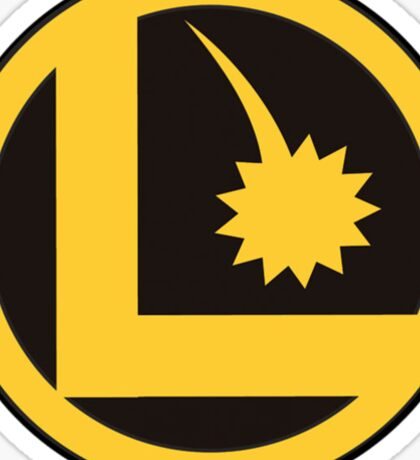 Legion of Super-Heroes Logo Sticker