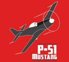 P-51 Mustang Baby Tee