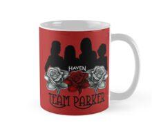 Haven Team Parker Sides Of Audrey Black Logo 2 Mug