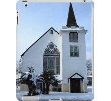 Paramus, NJ - Church and Steeple iPad Case/Skin