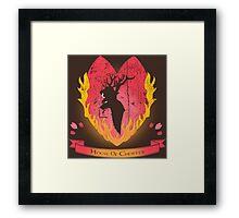 House of Chopper (Dark ver.) Framed Print