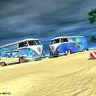Beach girls by Kanaa