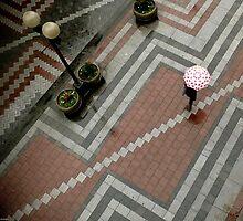 Geometry Rain Walker by Jim Scolman
