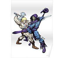 Heman versus Skeletor Poster