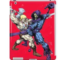 Heman versus Skeletor iPad Case/Skin