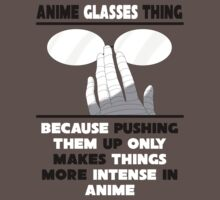 The Anime Glasses Thing Kids Clothes