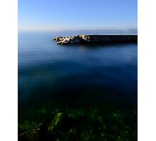 The Stone Pier..........France Photographic Print